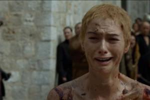 голая Лена Хиди в Игра престолов